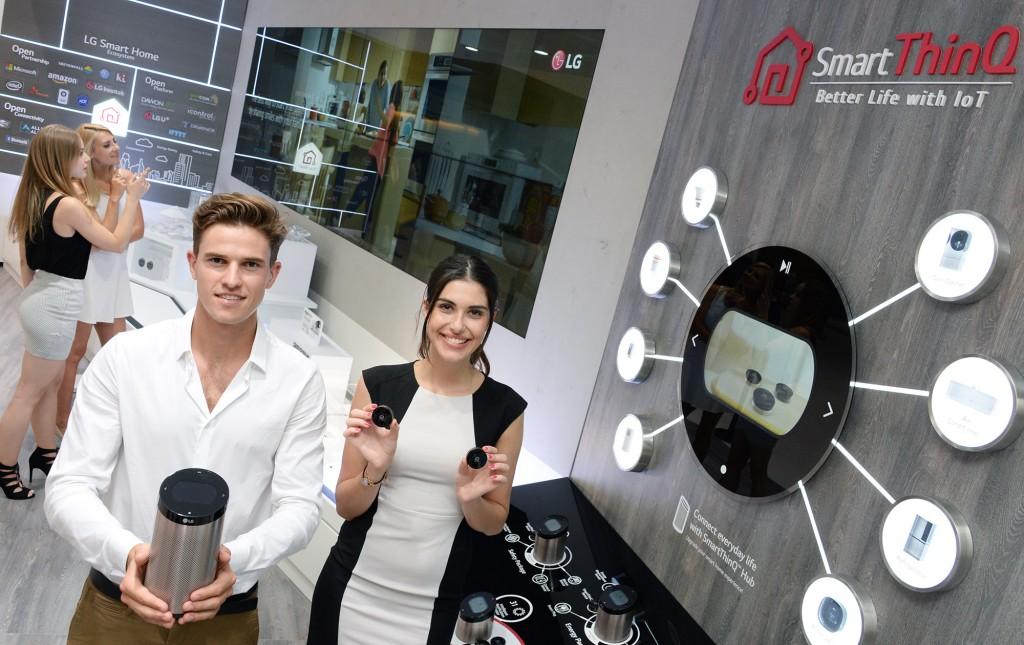 Η LG επεκτείνει τις δυνατότητες του IoT οικοσυστήματός της μέσω της συνεργασίας της με την Amazon